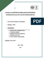 Informe 2. de Analitica Instrumental 1