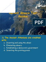 greece test review