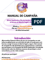 Manual de Campaña 28 de Septiembre