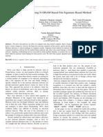 Malware Detection Using N-GRAM Based File Signature Based Method