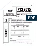 Pt3 Sains 2015 Kedah Trial