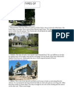 Diff. Types of Roofs