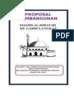 PROPOSAL MASJID Al Hidayah