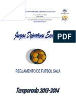 Reglamento Futsal Miguel