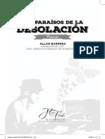 Allan Barrera. Los Paraisos de La Desolación