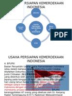 Usaha Persiapan Kemerdekaan Indonesia