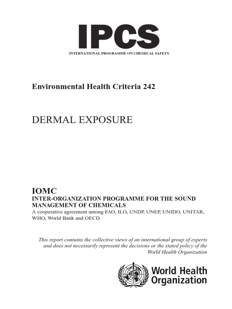 ehc_242 | Personal Protective Equipment | Dermatitis