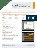 CDL Gateway 10inch HMI