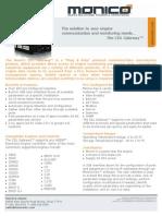 CDL Gateway Datasheet