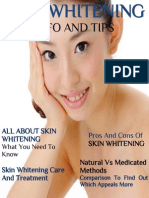 Skin Whitening Info And Tips