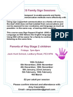 PDDCS Family Sign Poster