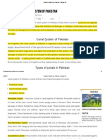 Irrigation & Canal System of Pakistan - Download Hub