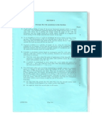 CSYS Mechanics Exam 1993