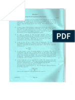 CSYS Mechanics Exam 1995