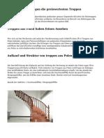 Aus Polen entspringen die preiswertesten Treppen