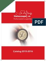 StetoscoapeRo Catalog 2015-2016