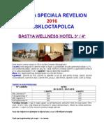 Oferta Speciala Revelion - h.bastya - Miskolctapolca