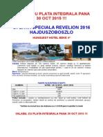 Oferta Speciala Revelion - h.beke - Hajduszoboszlo
