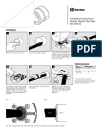 RSInstallation Instructions Roxtec Plastic Pipe Seal RS PPS/S PPS S