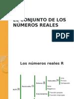 Cómo Se Define El Conjunto de Los Números Reales