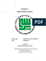 Referat HEPATITIS A dan HEPATITIS B