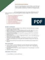 GVS_PMP_Course Content and Agenda Details