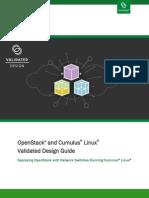 OpenStack Cumulus Linux Validated Design Guide