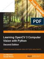 Learning OpenCV 3 Computer Vision with Python - Second Edition - Sample Chapter