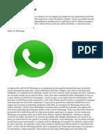 Descubre WhatsApp