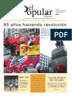 El Popular 325 Órgano de Prensa Oficial del Partido Comunista de Uruguay.