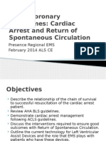2014 February ALS Cardiac Arrest and ROSC