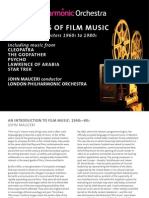 Booklet of The genius of film music