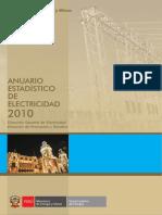 Balance y Principales Indicadores Eléctricos 2010 (2)