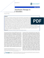 Extracorporeal Shockwave Therapy in Muskuloskeletal Disorder