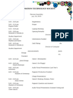 GA 2015 Program