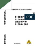 Euro Live b 1520 Pro
