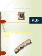 PROTESIS FIJA Conferencia Curso Actualización 2015