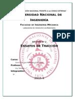 Informe 2 de Ciencia de Los Materiales