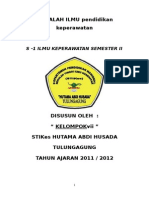 Pendidikan Keperawatan Kelompok Vii