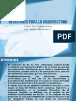 Semana 3 Decisiones Manufactura