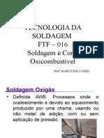 FTF -016 - Soldagem e Corte Oxicombustivel