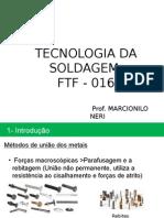1-FTF-016 Introdução Soldagem