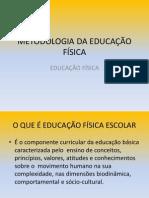 Metodologia Do Ensino Da Educação Física- o Que é Educação Física