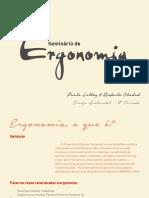Seminário sobre Ergonomia