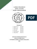 Praktikum Kimia Analitik - Oksidi Redukto