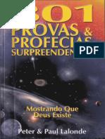 301 Provas Profecias Surpreendentes Mostrando Que Deus Existe - Peter Paul Lalonde