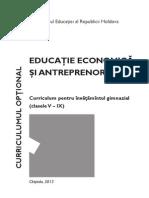 Curriculum Ciclu Gimnazial