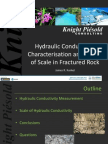 01 J Kunkel Hydraulic Conductivity Characterization of Fractured Rock at Mine Sites