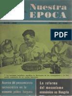 Nuestra Epoca N°10 - Octubre 1966 - Revista Internacional