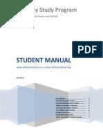 ASP Student Manual